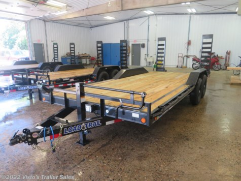 New 2019 Load Trail 102''X20' Equipment Trailer For Sale by Visto's Trailer Sales available in West Fargo, North Dakota