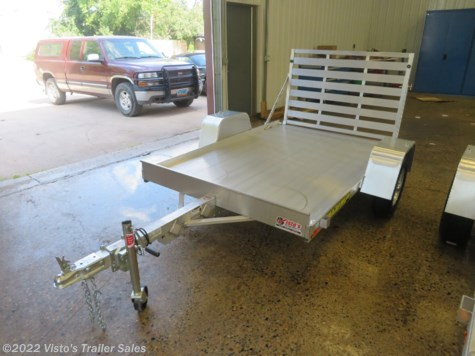 New 2020 Aluma 63''X8' Utility Trailer For Sale by Visto's Trailer Sales available in West Fargo, North Dakota