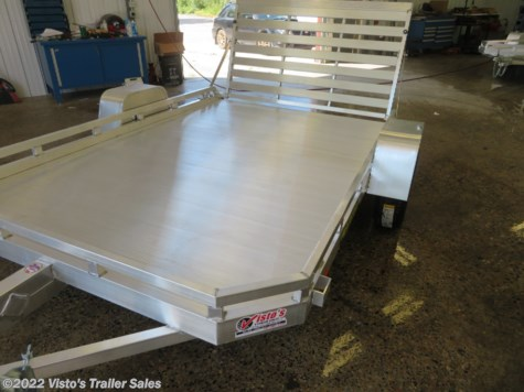 "New 2020 Aluma 77""X10' Utility Trailer For Sale by Visto's Trailer Sales available in West Fargo, North Dakota"