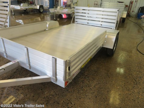 "New 2020 Aluma 81""X12' Utility Trailer For Sale by Visto's Trailer Sales available in West Fargo, North Dakota"