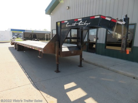 Used 2012 Big Tex 102''X35' Gooseneck Deckover For Sale by Visto's Trailer Sales available in West Fargo, North Dakota
