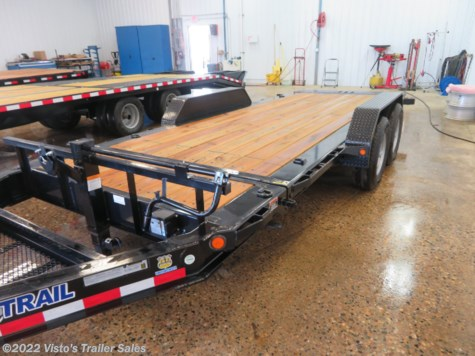 New 2019 Load Trail 83''X18' Tilt Trailer For Sale by Visto's Trailer Sales available in West Fargo, North Dakota