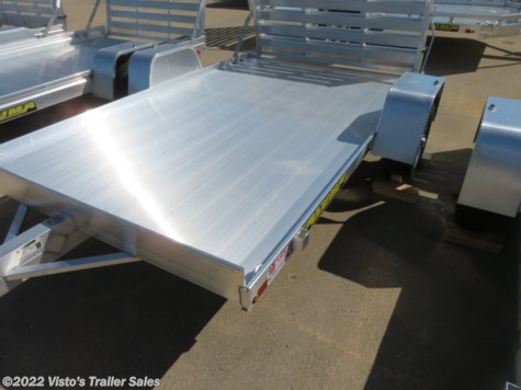 New 2020 Aluma 72''X10' Utility Trailer For Sale by Visto's Trailer Sales available in West Fargo, North Dakota