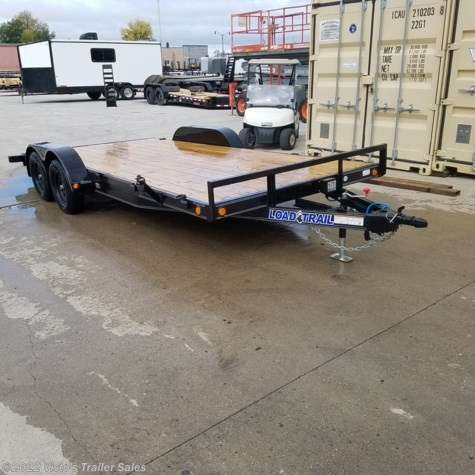 "New 2020 Load Trail 83""X18' Equipment Trailer For Sale by Visto's Trailer Sales available in West Fargo, North Dakota"