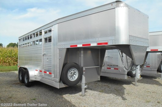 Livestock Trailer - 2020 EBY 16' GN LS MAV available New in Salem, OH