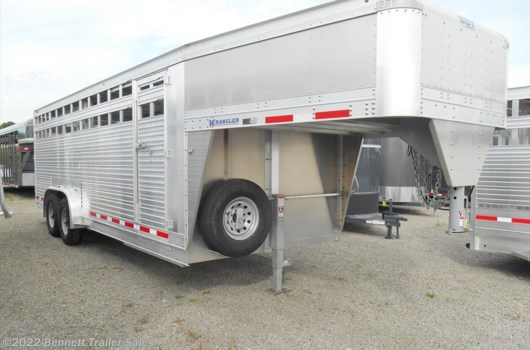 Livestock Trailer - 2019 EBY 7.5 x 22 Wrangler available New in Salem, OH