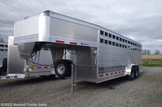 Livestock Trailer - 2020 EBY 7.5 x 22 Wrangler available New in Salem, OH