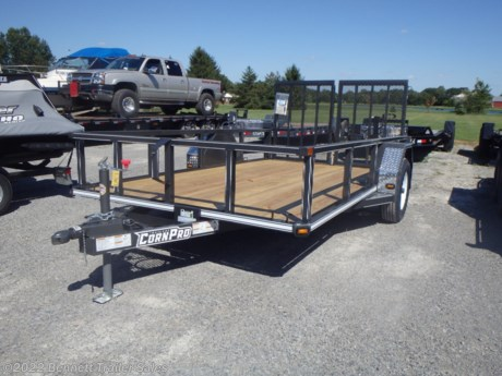 "<p><span style=""font-family: helvetica, arial, sans-serif;"">Standard Features for Corn Pro's UT-12LS Single Axle Trailer:</span></p>