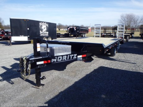 "<p><span style=""font-family: helvetica, arial, sans-serif;"">Standard Features for Moritz's UDC Series Flatbed Trailer:</span></p>