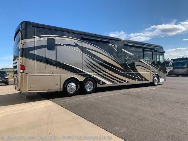 2020 Newmar Mountain Aire 4551 SOLD - New Diesel Pusher For Sale by Steinbring Motorcoach in Garfield, Minnesota features Residential Refrigerator, Outside Entertainment Center, Bath & 1/2, Hydronic Heat, Dryer