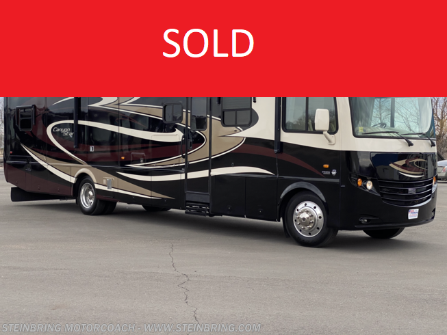Used 2013 Newmar Canyon Star 3911 WHEELCHAIR ACCESSIBLE WITH 3 POWER SLIDEOUTS available in Garfield, Minnesota