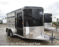 #TBH 367c - 2016 Royal T Trailers Maverick Lite 2 Horse Angle Haul Bumper Pull