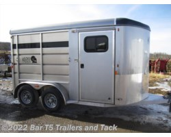 #TBH 331e - 2017 Royal T Trailers Maverick Lite WARMBLOOD SIZE 2 Horse Angle Haul Bumper Pull