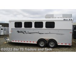 #TBH 380c - 2016 Royal T Trailers Imperial X Bar T5 Model 4 Horse Angle Haul Bumper Pull