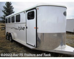 #TBH 337d - 2016 Royal T Trailers Imperial X Bar T5 Model 4 Horse Angle Haul Bumper Pull