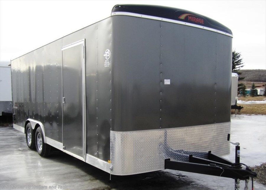 2016 Mirage Xcalibur 8.5x20 Enclosed Car Hauler Bumper Pull