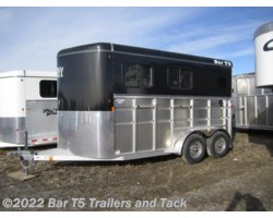 #TBH 394e - 2017 Royal T Trailers Maverick Lite DX WARMBLOOD 2 Horse Angle Haul Bumper Pull