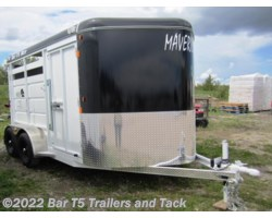 #TBH 215c - 2017 Maverick HS Steel 2 Horse Angle Haul 13' Stock Combo Bumper Pull