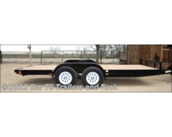 "#TBF 318a - 2017 C&B 16' Car Trailer Straight Deck 80"" wide"
