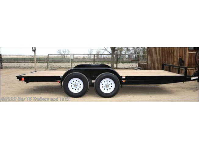 "2017 C&B 16' Car Trailer Straight Deck 80"" wide"
