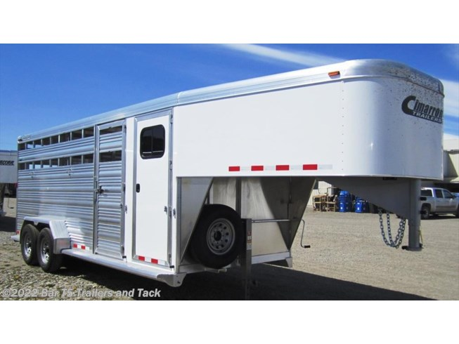 2017 Cimarron Lonestar 7' x 24' Stock w/ 4' Dressing Room Gooseneck