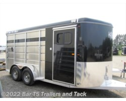 #TBH 229c - 2017 Royal T Trailers Maverick Lite WARMBLOOD SIZE 3 Horse Angle Haul Bumper Pull
