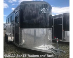 #TBH 288d - 2018 Royal T Trailers Maverick Lite DX WARMBLOOD 3 Horse Angle Haul Bumper Pull