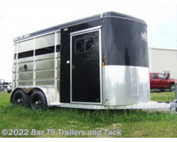 #TBH 230c - 2017 Royal T Trailers Maverick Lite WARMBLOOD SIZE 2 Horse Angle Haul Bumper Pull