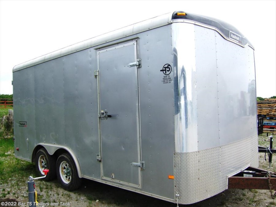 2008 Haulmark Grizzly GR85X16WT2 Cargo Enclosed Bumper Pull