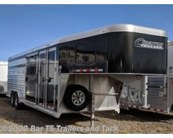 "#TGC 1317h - 2018 Cimarron Lonestar 7'6"" x 26' Stock w/6' Tack Trainers Special!"