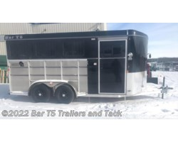 #TBH 257d - 2018 Royal T Trailers Maverick Lite DX 3 Horse Angle Haul Bumper Pull