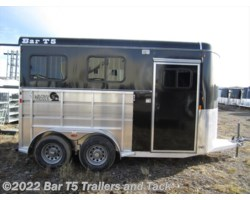 #TBH 273d - 2018 Royal T Trailers Maverick Lite DX WARMBLOOD SIZE 2 Horse Angle Haul Bumper Pull