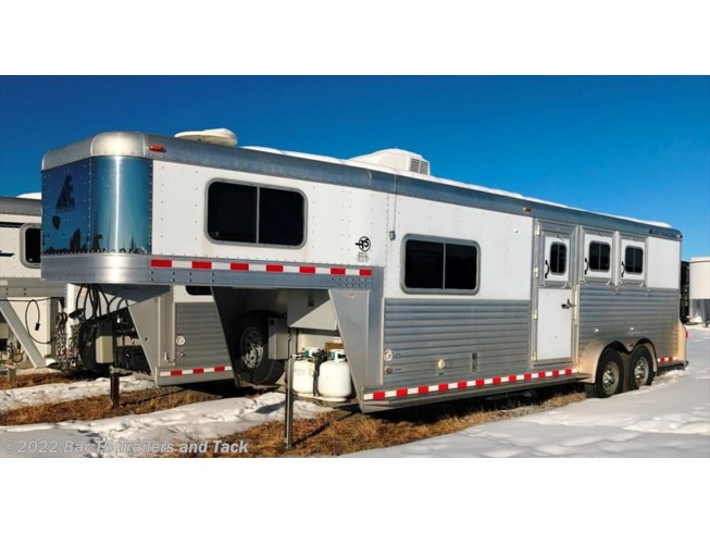 "2008 Elite Trailers 3 Horse GN w/8'8"" Mustang Living Quarters"