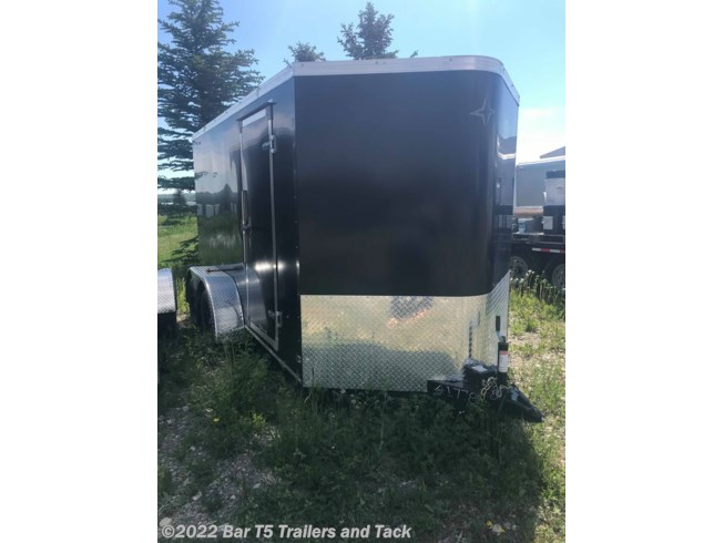 2018 Southland Royal Lightning 6x12 Cargo Trailer w/ 2' V-Nose and Ramp