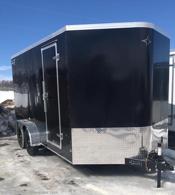2018 Southland Royal Lightning 7x14 Tandem Cargo Trailer w/ 2' V-Nose and Ramp