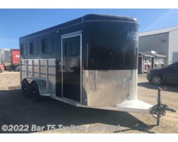 #TBH 287d - 2018 Royal T Trailers Maverick Lite DX WARMBLOOD 3 Horse Bumper Pull w/ Ramp