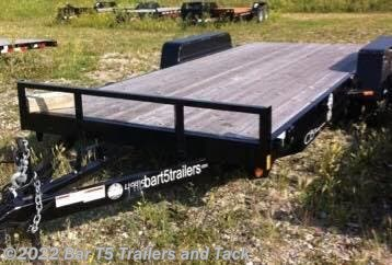 "2017 C&B 18' Car Trailer Straight Deck 80"" Wide"