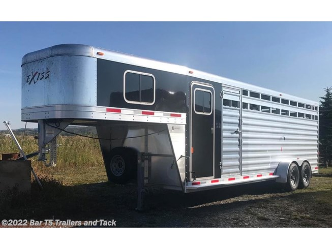 2019 Exiss Livestock 24' Stock Combo w/ 4' Dressing Room