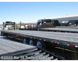 #4953 - 0 Innovative Trailer 4953 36' Flatdeck with 3 7K axles