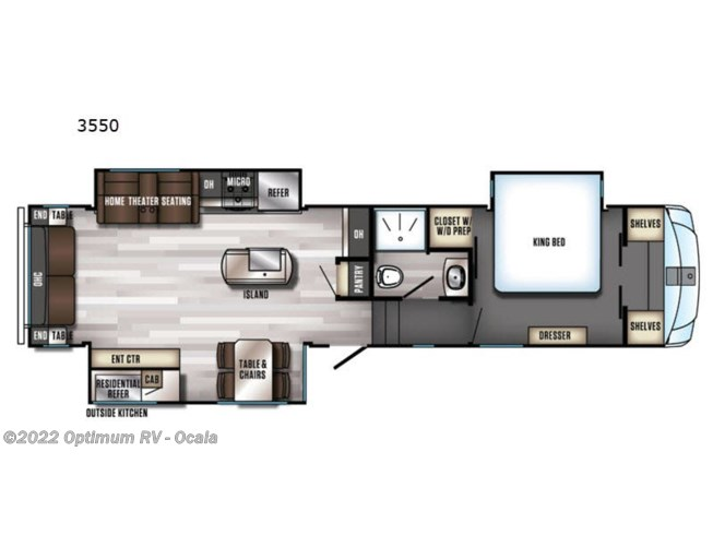 2020 Cherokee Arctic Wolf Suite 3550 by Forest River from Optimum RV in Ocala, Florida