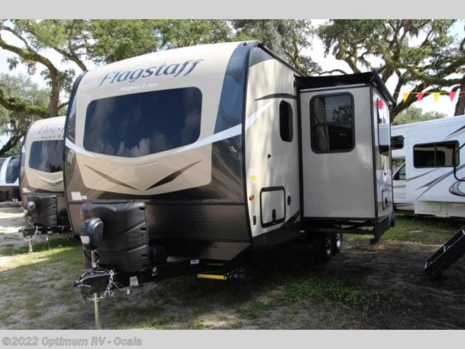 2020 Forest River Flagstaff Super Lite 23FBDS - New Travel Trailer For Sale by Optimum RV in Ocala, Florida features Slideout