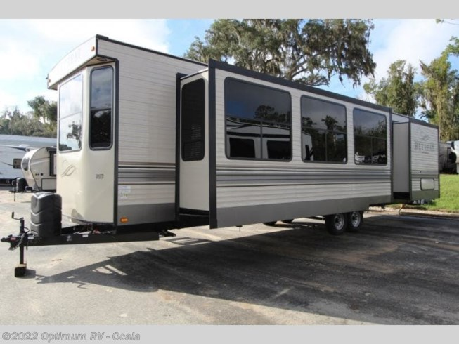 2020 Keystone Retreat 391FDEN - New Destination Trailer For Sale by Optimum RV in Ocala, Florida features Slideout