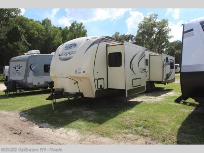 2016 Jayco Eagle 338RETS - Used Travel Trailer For Sale by Optimum RV in Ocala, Florida features Slideout
