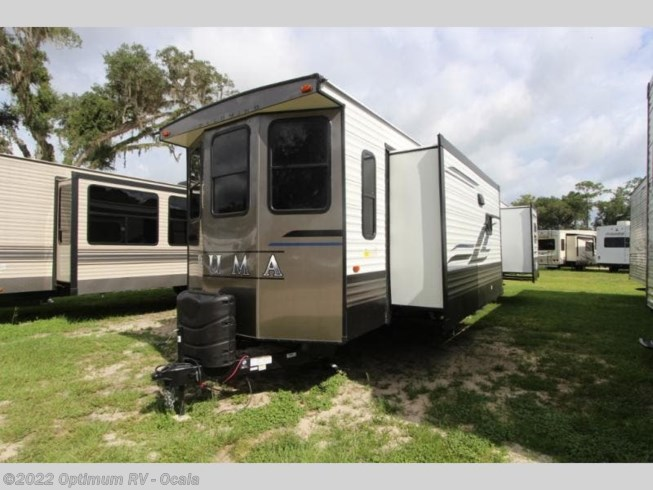 2021 Palomino Puma Destination 37PFL - New Destination Trailer For Sale by Optimum RV in Ocala, Florida features Slideout