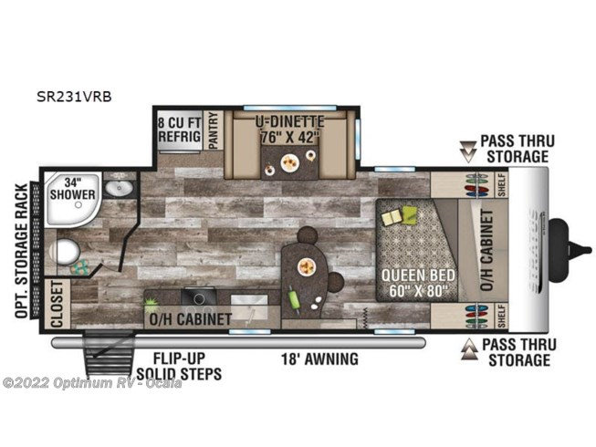 New 2021 Venture RV Stratus Ultra-Lite SR231VRB available in Ocala, Florida