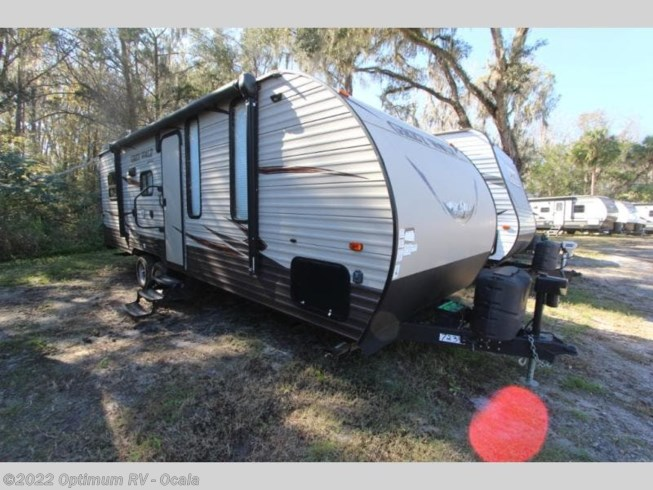 Used 2017 Forest River Cherokee Grey Wolf 22RR available in Ocala, Florida