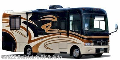 Stock Image for 2010 Monaco RV Monarch 33SFS (options and colors may vary)