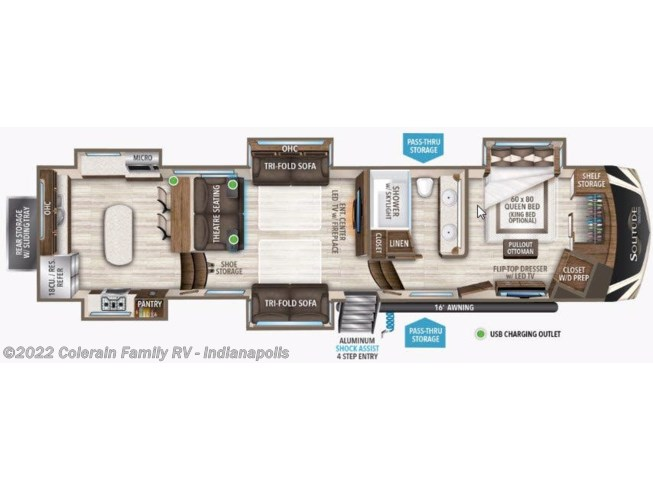 2020 Grand Design Solitude - New Fifth Wheel For Sale by Colerain RV of Indy in Indianapolis, Indiana