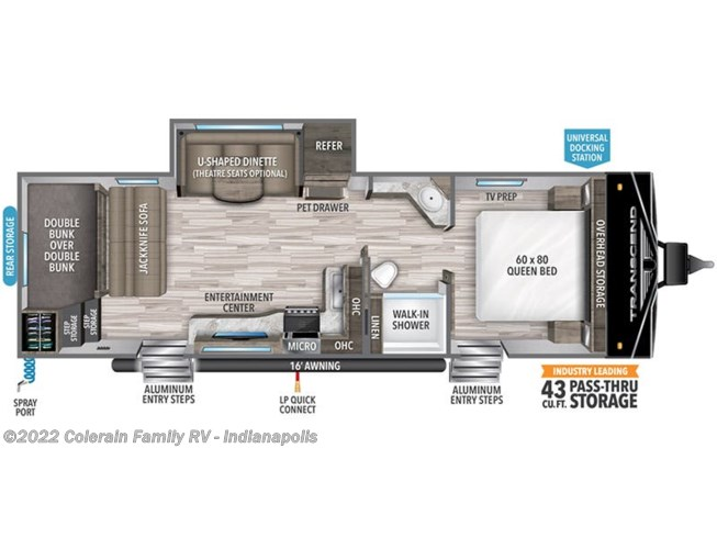 2021 Grand Design Transcend Xplor 265BH - New Travel Trailer For Sale by Colerain RV of Indy in Indianapolis, Indiana