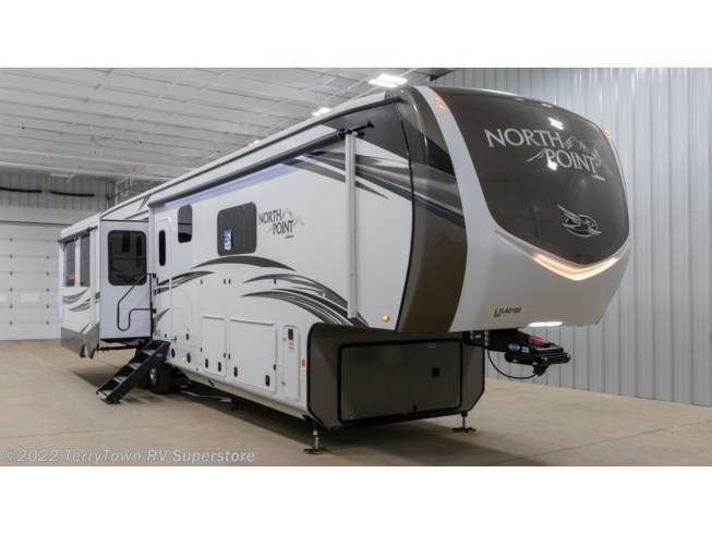 New 2020 Jayco North Point 387FBTS available in Grand Rapids, Michigan